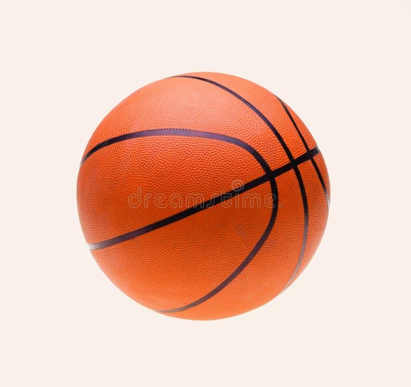 Free Orange Basket Ball, Isolated Over White Stock Photography - 43966272
