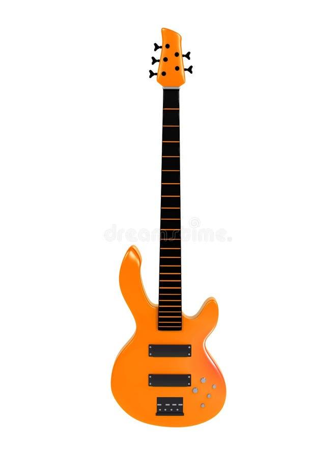 Orange bass isolated on white background royalty free stock photo