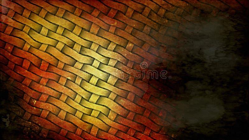Orange and Black Grunge Background. Beautiful elegant Illustration graphic art design royalty free illustration