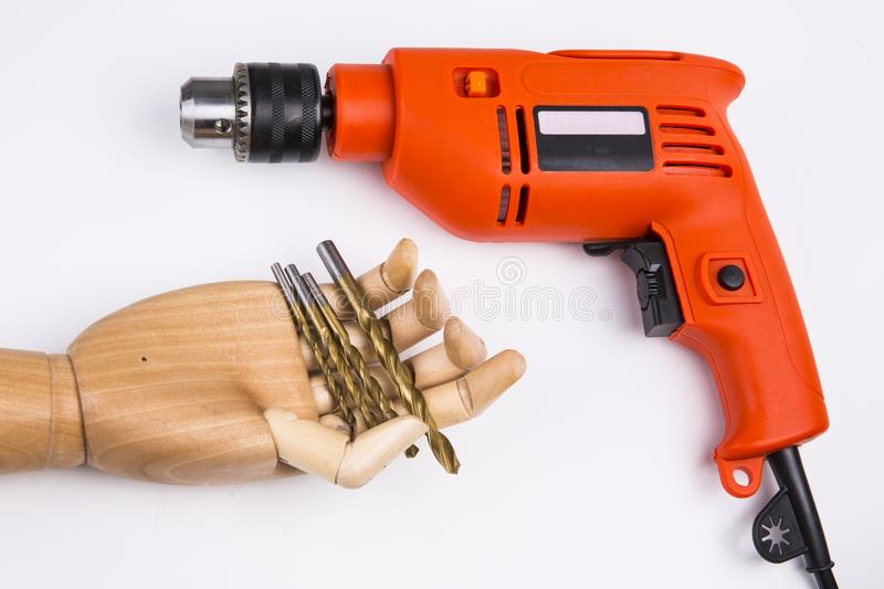 Power Drill royalty free stock image