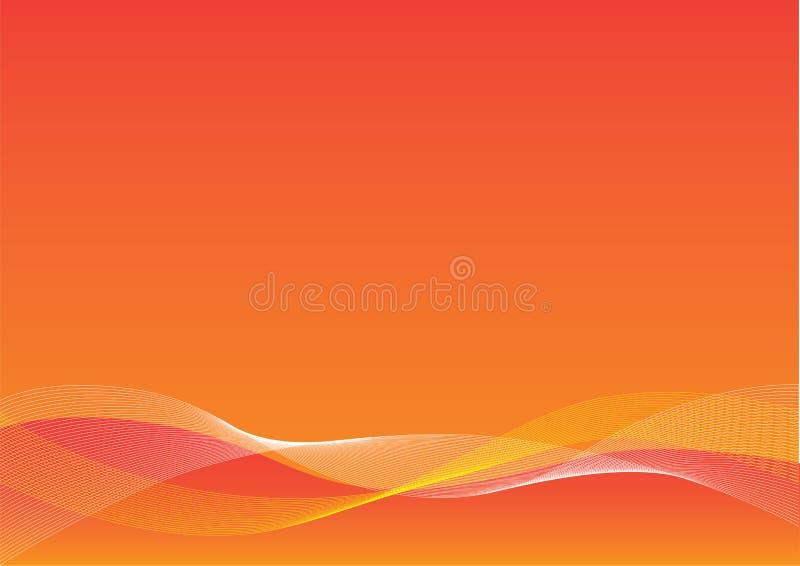 Orange Blend Background stock image