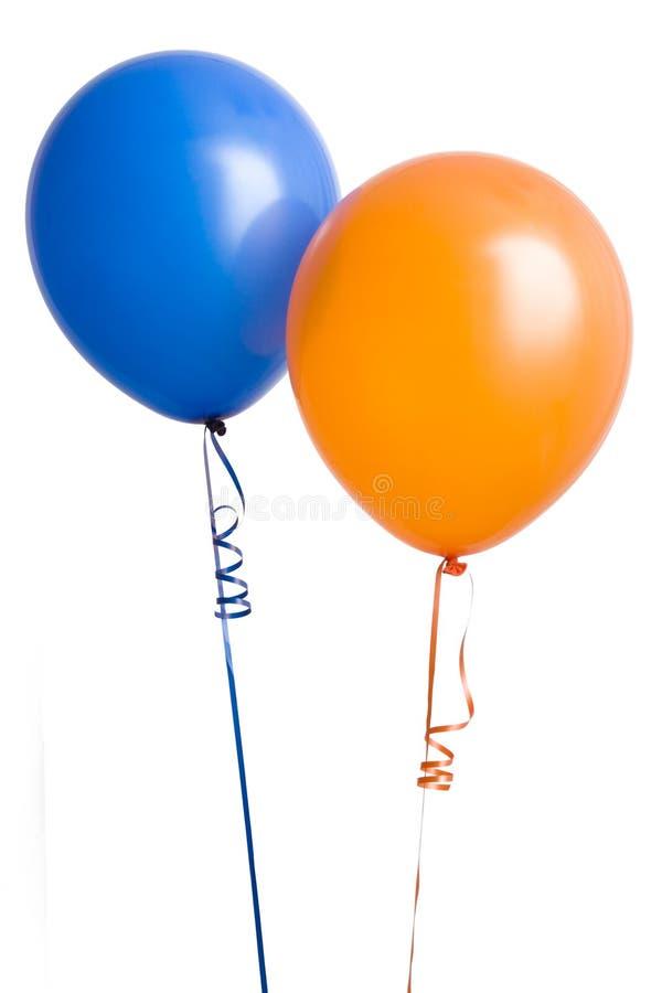 Orange And Blue Balloon Stock Photo Image Of Balloon