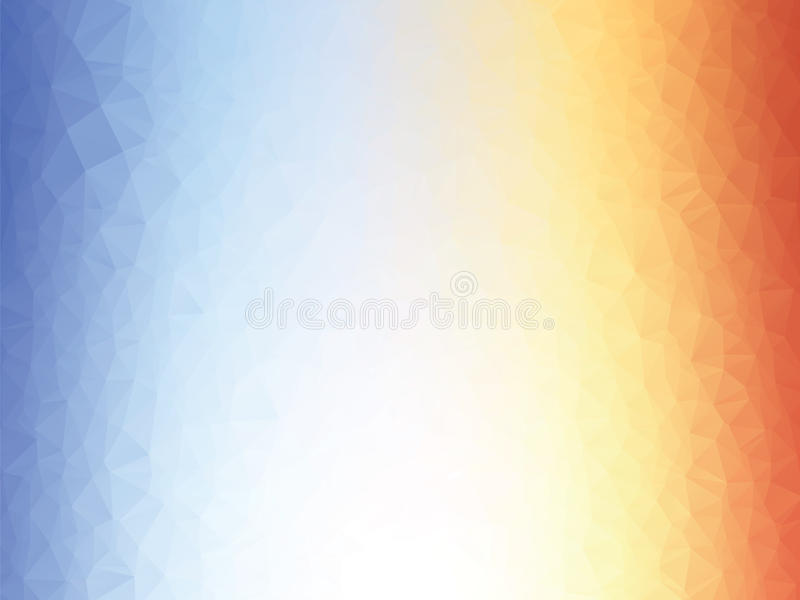 Orange blue texture background low poly. Abstract orange blue texture background low poly stock illustration