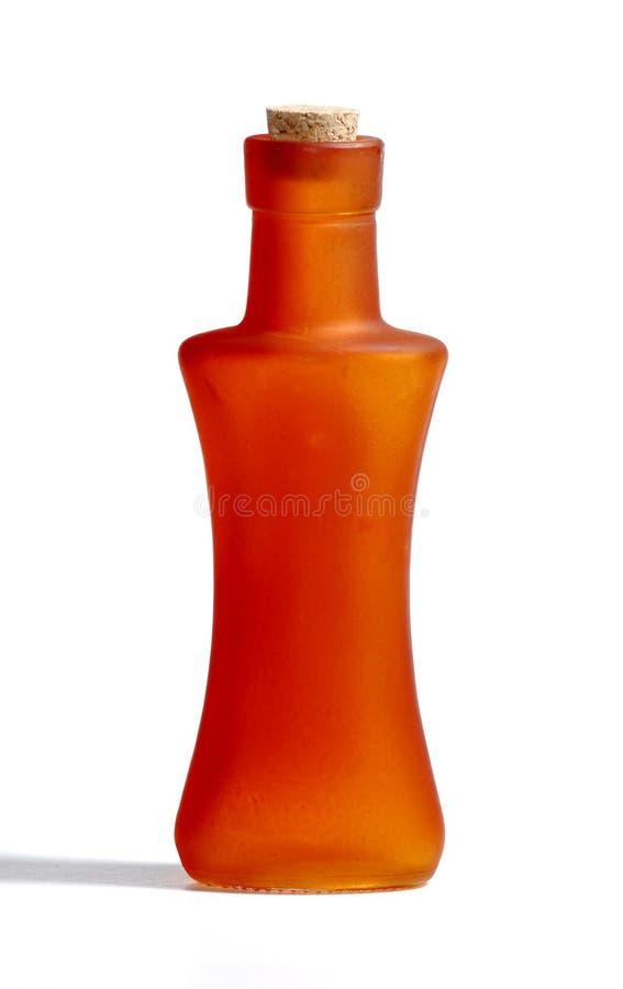 Orange Bottle Stock Photography