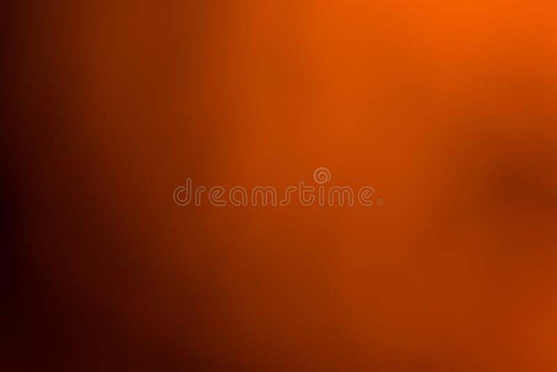 Orange, braune und schwarze glatte und unscharfe Tapete/Hintergrund stockfoto