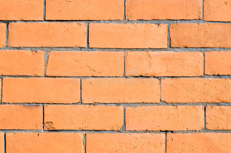 Download Orange brick wall stock image. Image of built, brickwall - 23926787