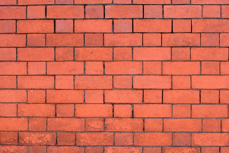 Orange Brick Wall. Pattern of the orange brick wall background royalty free stock photography