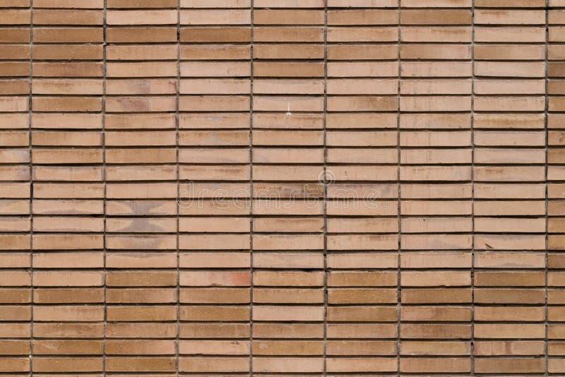 Orange brick wall royalty free stock photos