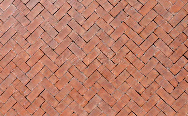 Orange bricks floor stock image image of textured for Brick flooring prices