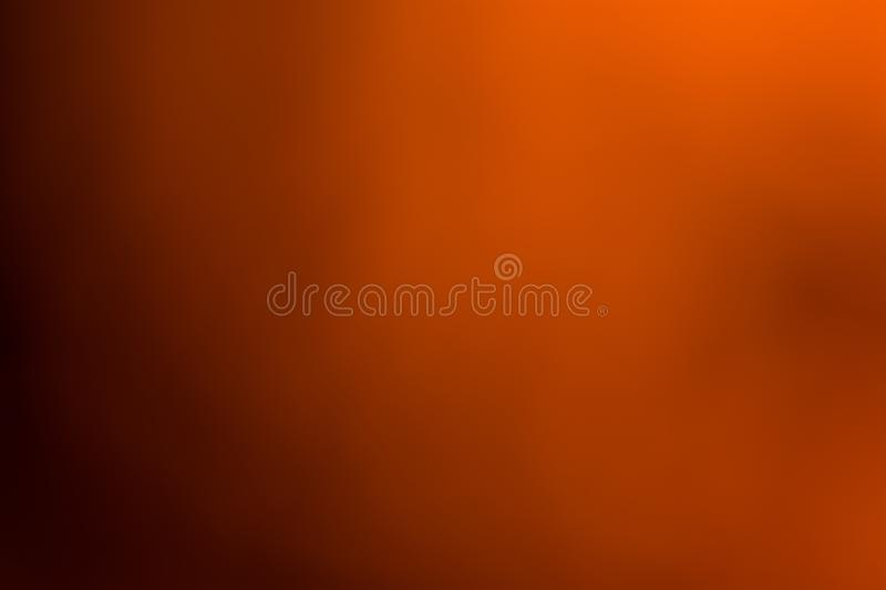 Orange, brown and black smooth and blurred wallpaper / background. In pastel like colors in big resolution stock photo