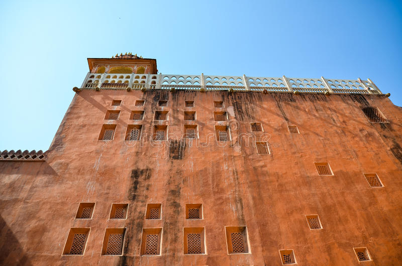Download The Orange Building And Random Window Stock Image - Image: 32175831