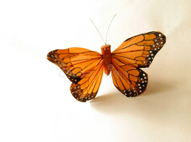Download Orange butterfly stock photo. Image of artificial, design - 43104