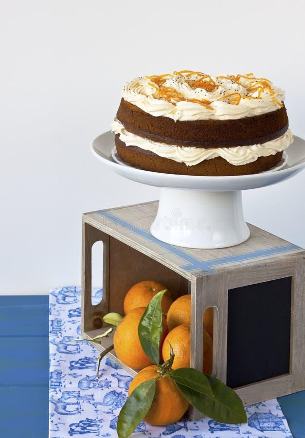Download Orange Cake Royalty Free Stock Photo - Image: 21192615