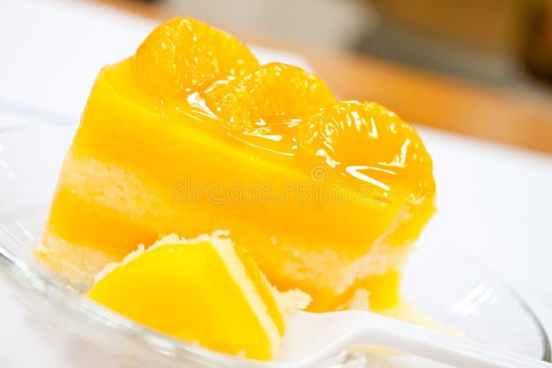 Download Orange cake stock photo. Image of birthday, cream, carbohydrate - 26635958