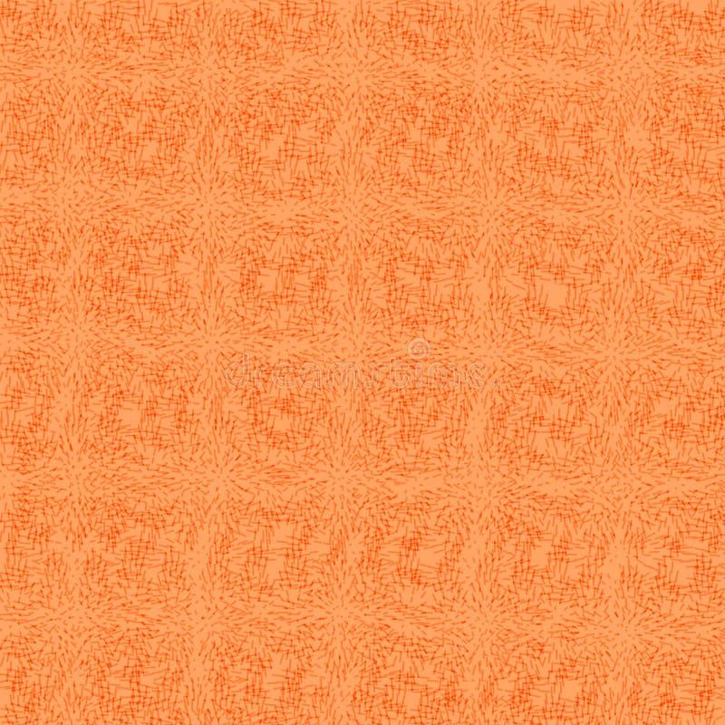 Orange canvas leather background texture royalty free illustration