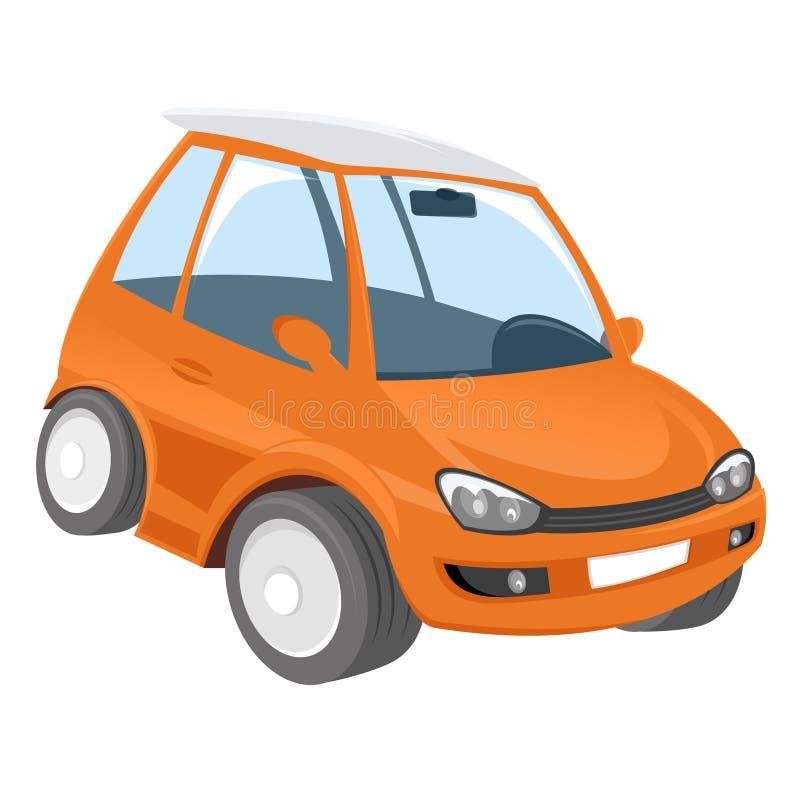 Download Orange Cartoon Car Stock Image - Image: 21344251