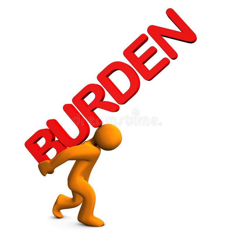 Download Burden stock illustration. Illustration of spending, expense - 29778627