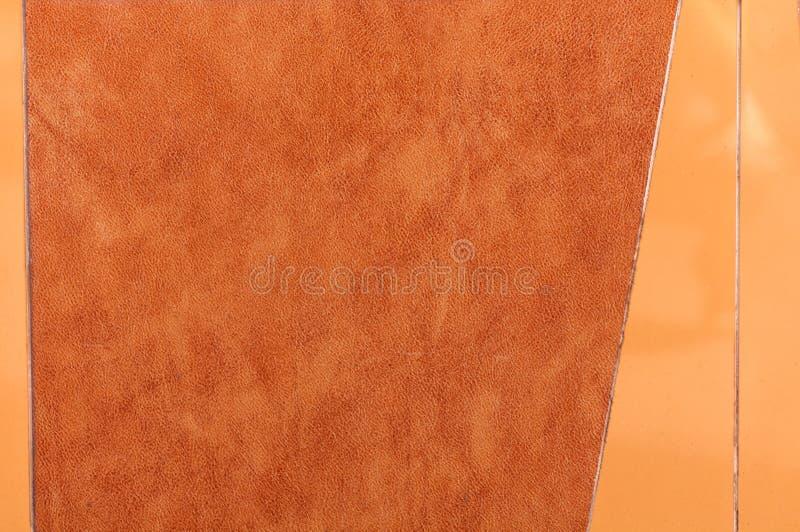 orange ceramic tile stock photo