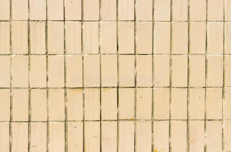 Orange Ceramic tile for walls stock photo
