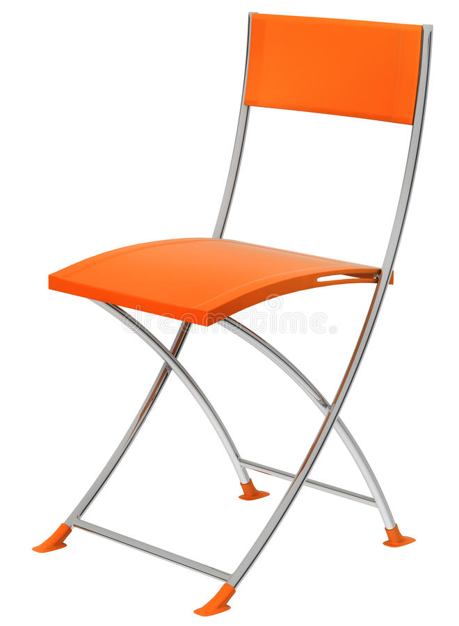 Download Orange chair stock illustration. Image of relax, business - 21091622