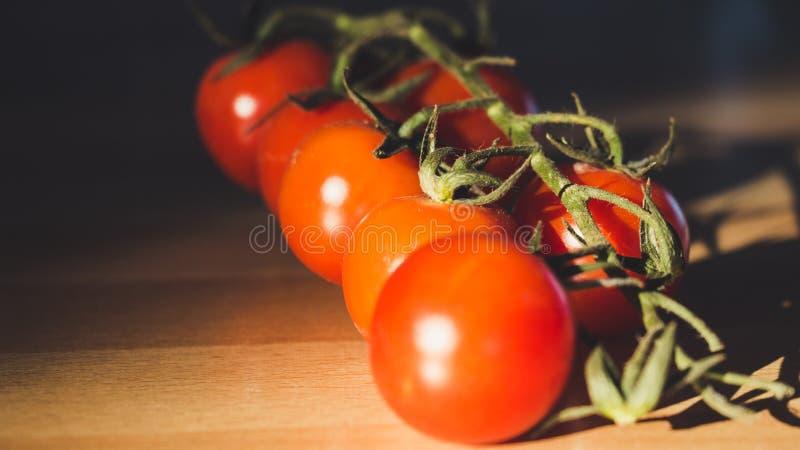 Orange Cherry Tomatoes stock photography
