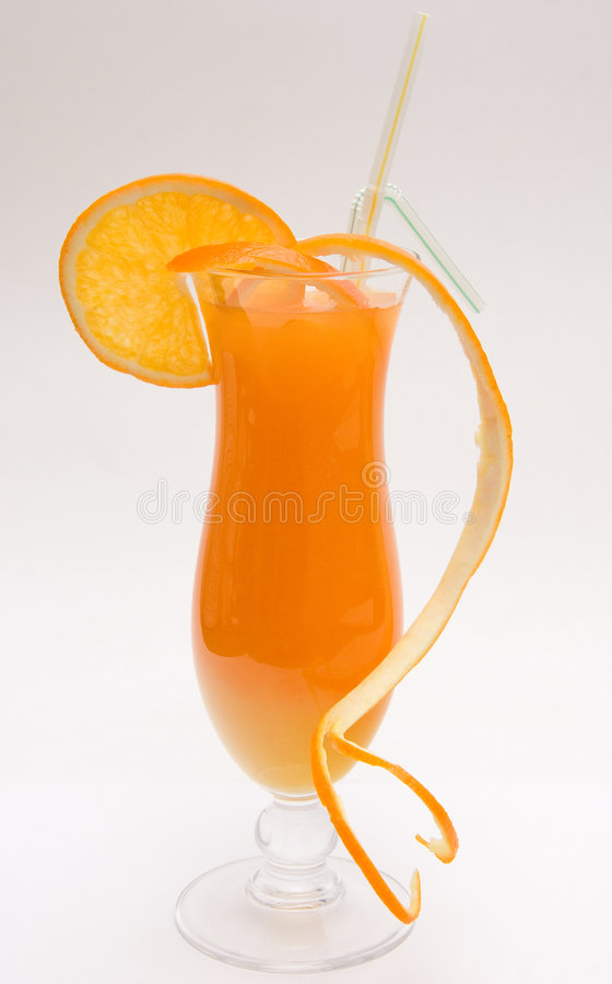 Free Orange Cocktail Royalty Free Stock Image - 3392556