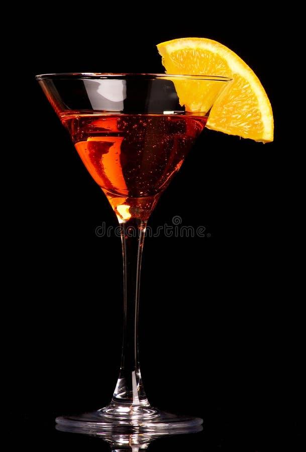 Orange Cocktail stockbilder