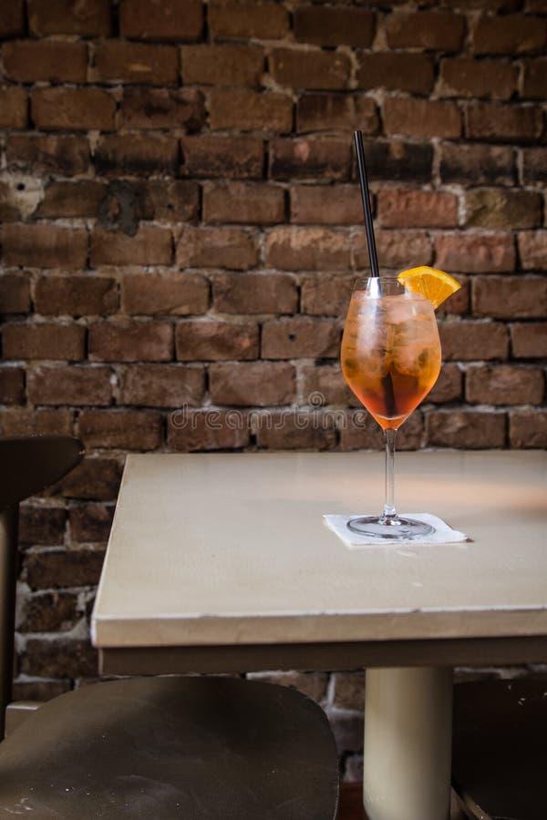 Orange Cocktail stockfoto