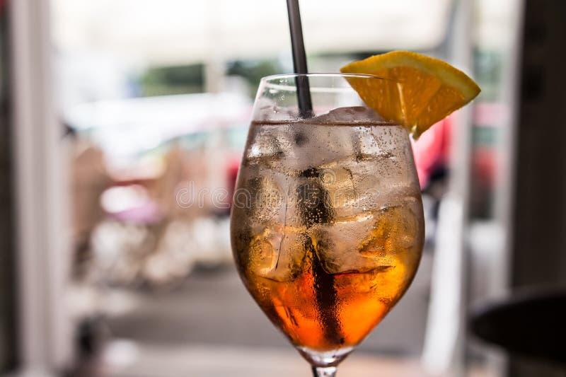 Orange Cocktail stockfotografie