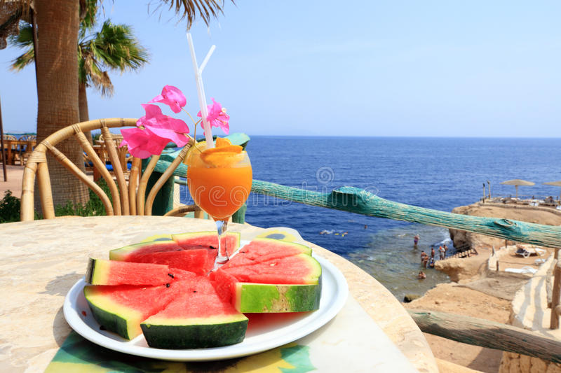Download Orange Cocktail In Sharm Resort Stock Photo - Image of relaxation, resort: 16223746