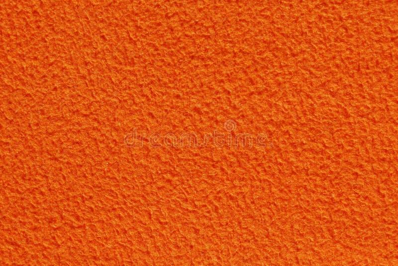 Orange Color Fabric Texture Stock Photo