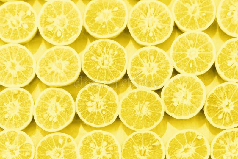 Orange colorized Pop-Arten-Hintergrund der Scheibe Muster lizenzfreie stockfotos