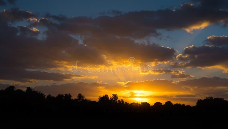 Orange Countryside Sunset Free Public Domain Cc0 Image