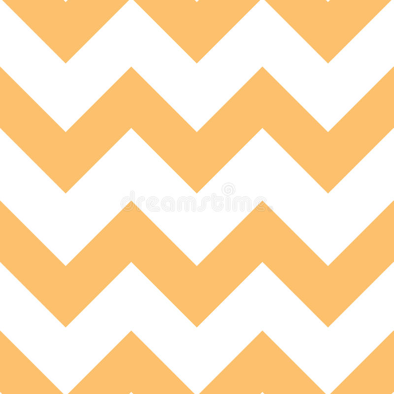 Free Orange Creme Chevron Pattern Stock Images - 21139004
