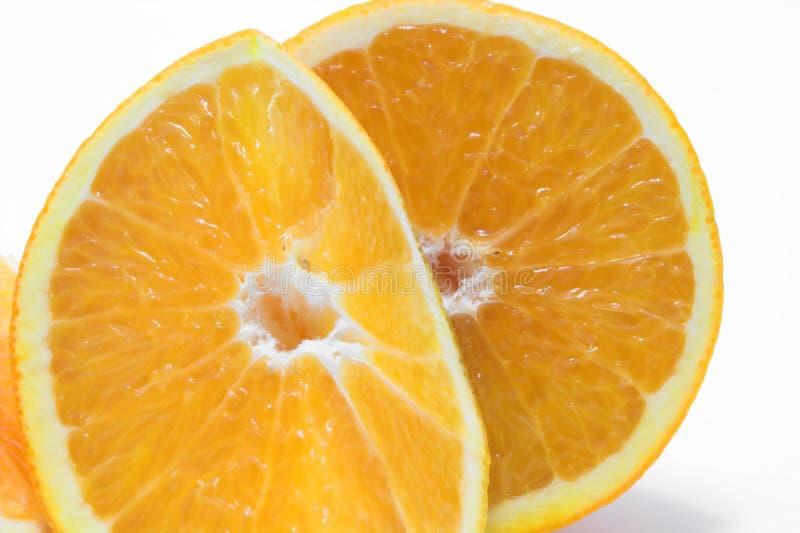 Orange Cross Sections Royalty Free Stock Photo