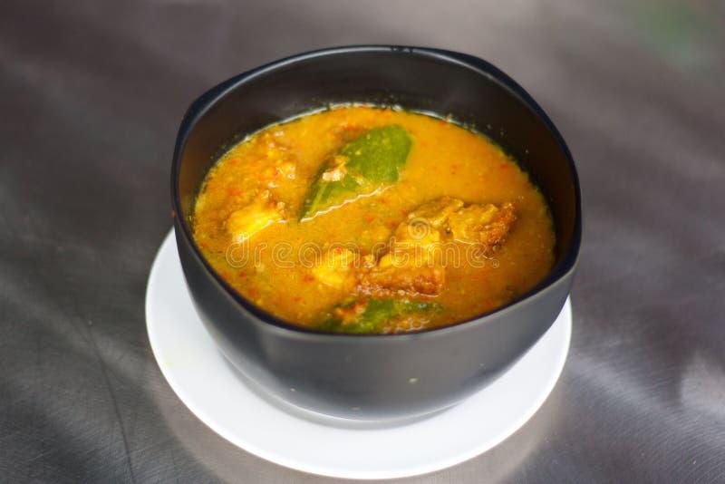 Orange Curry stockbilder