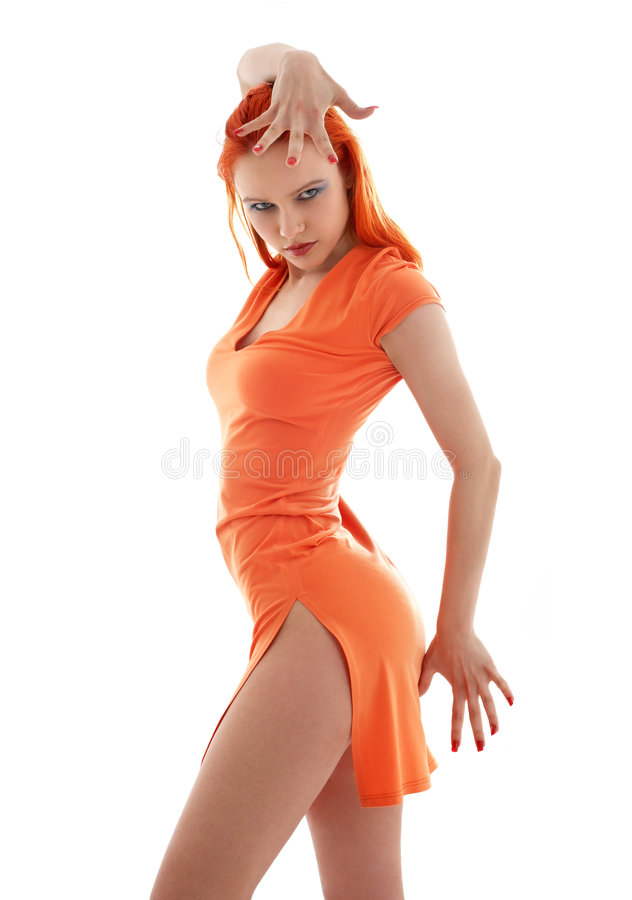 Download Orange Dance Royalty Free Stock Photo - Image: 3466595