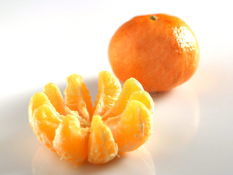 Orange De Clémentine Photos libres de droits