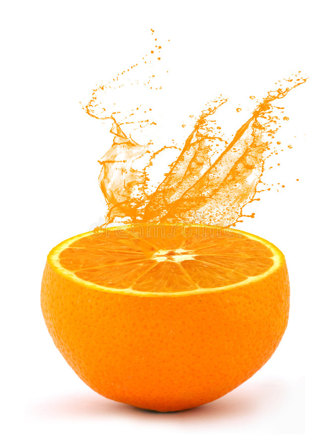 orange de jus photos libres de droits