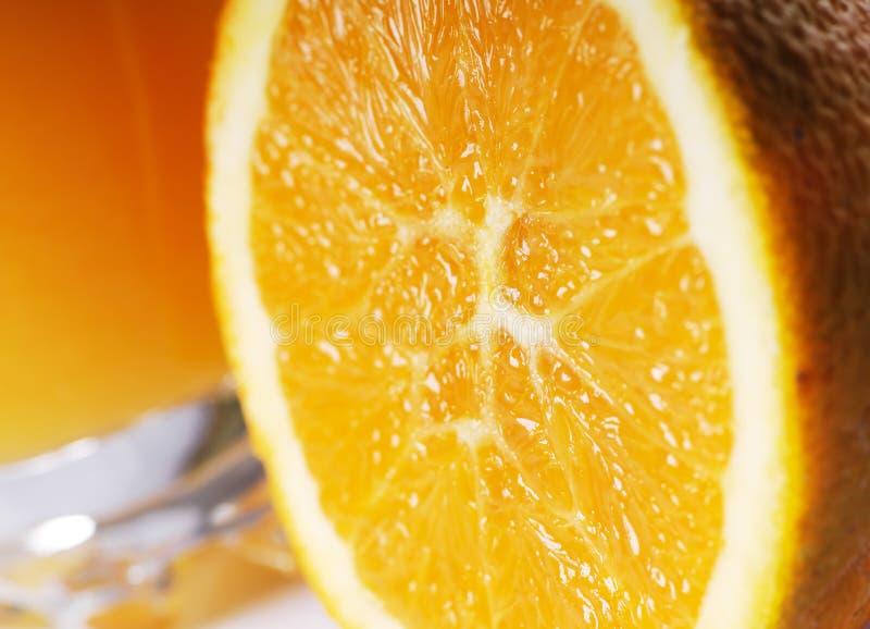 orange de jus images libres de droits