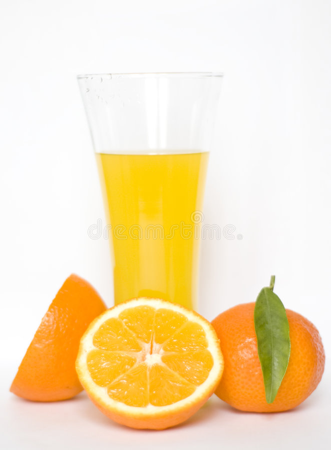 orange de jus photographie stock