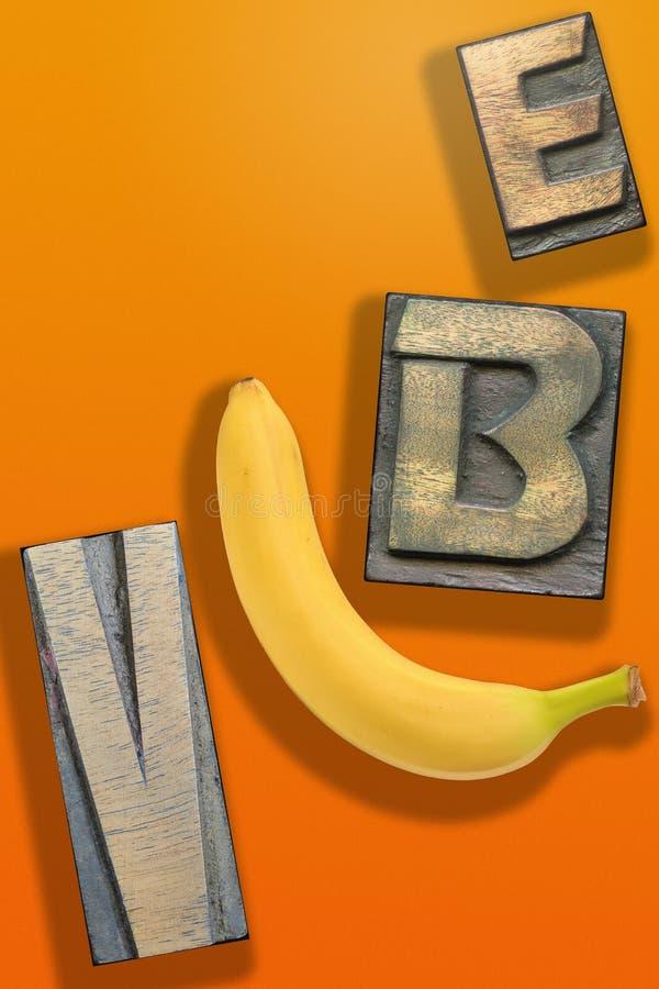 Orange de WORD de Vibe photos libres de droits