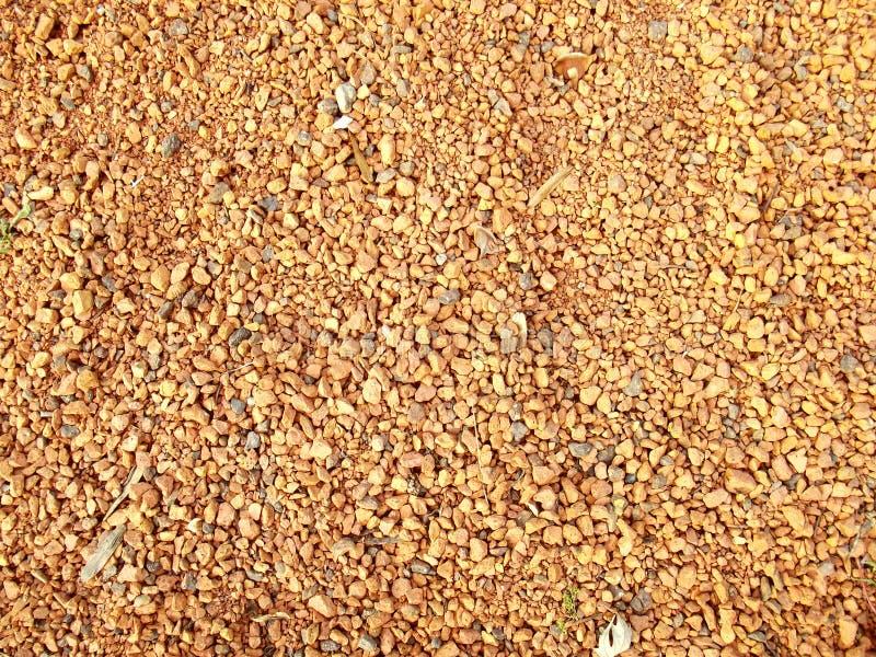 Orange decorative sand. royalty free stock photography