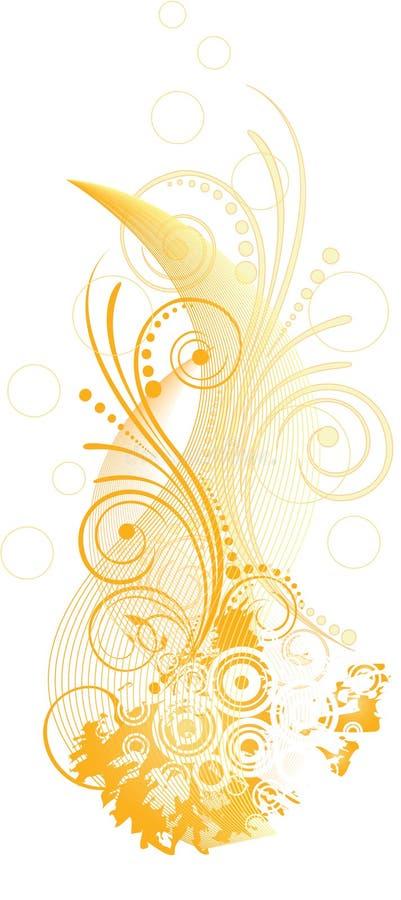 Orange Design Royalty Free Stock Image