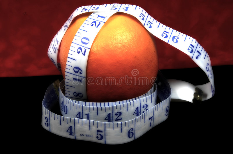 Orange Diet stock photos