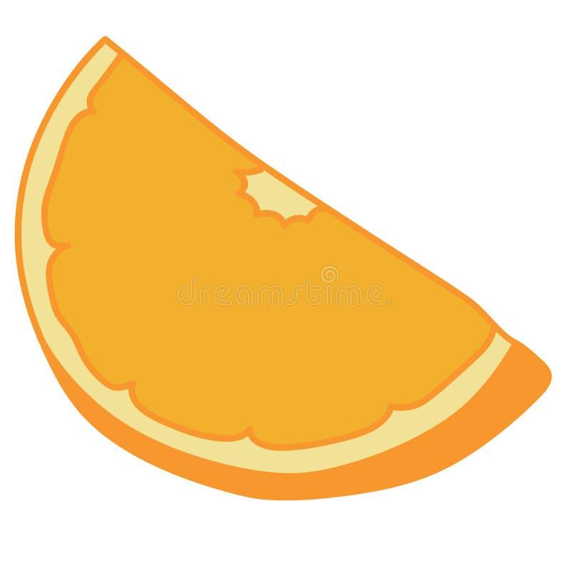 Orange dragen vektoreps-hand, vektor, Eps, logo, symbol, konturillustration vid crafteroks f?r olikt bruk stock illustrationer