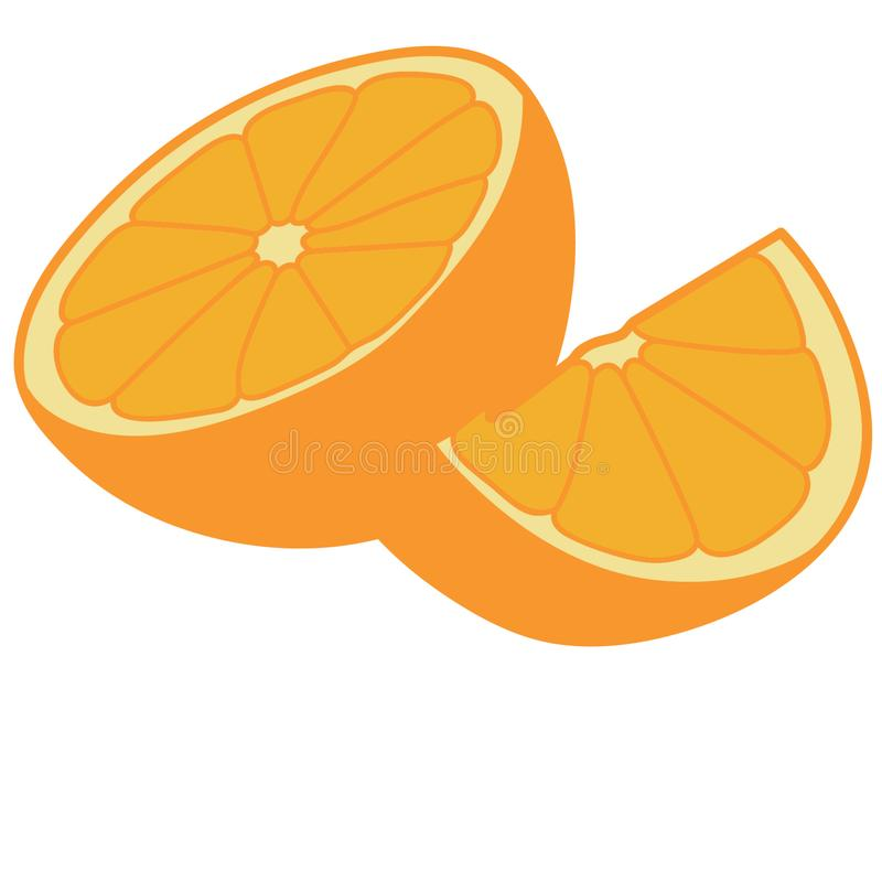 Orange dragen vektoreps-hand, vektor, Eps, logo, symbol, konturillustration vid crafteroks f?r olikt bruk royaltyfri illustrationer