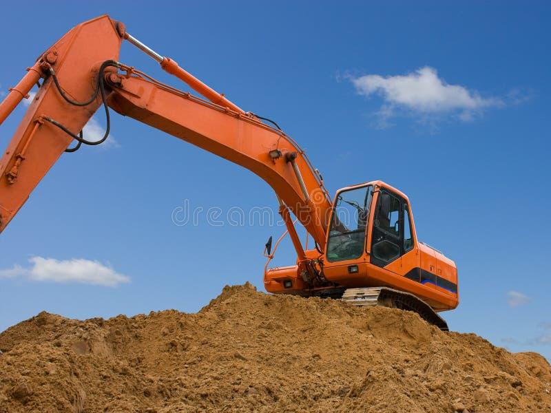 Download Orange dredge stock photo. Image of orange, window, force - 13760950