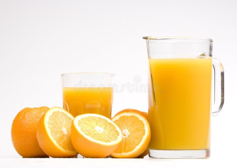 Orange drink royalty free stock images