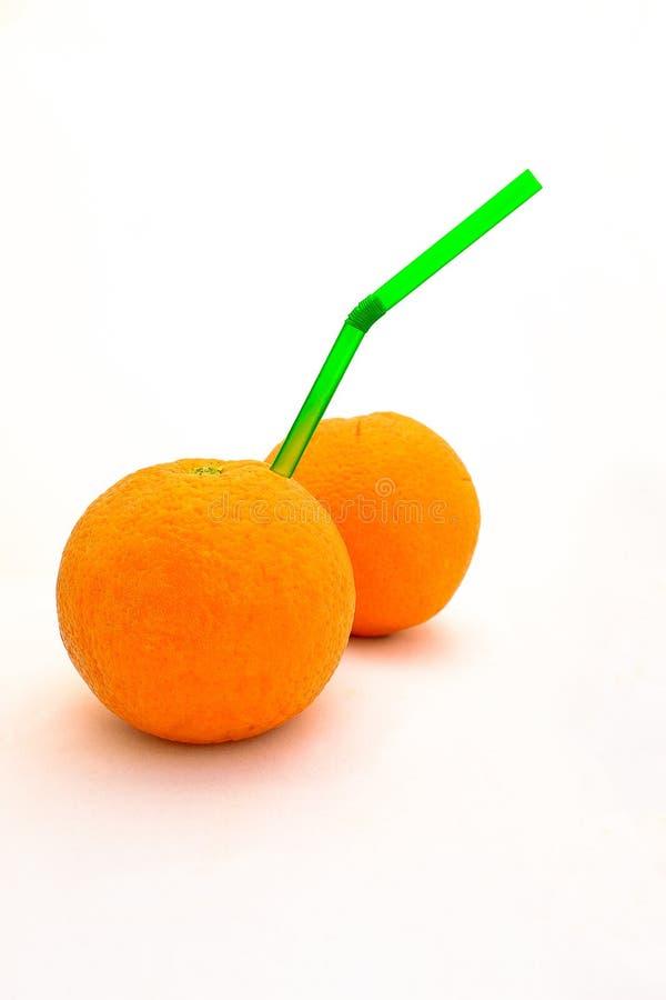 Orange drink arkivbild